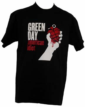green day tshirt