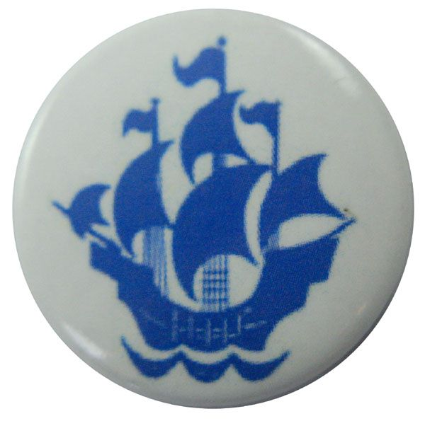 blue peter badge button badge