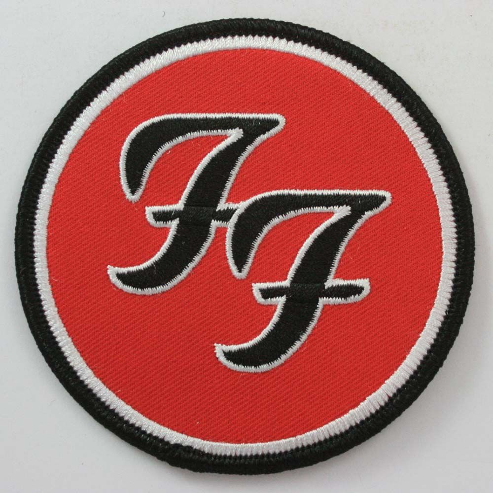 Foo Fighters Ff Logo Round Embroidered Patch