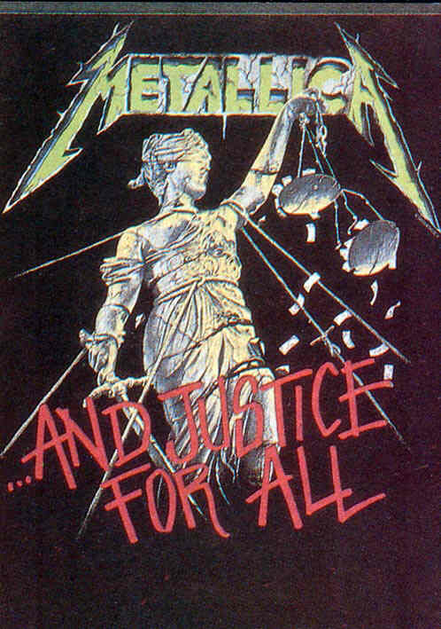 Metallica And Justice For All Sticker