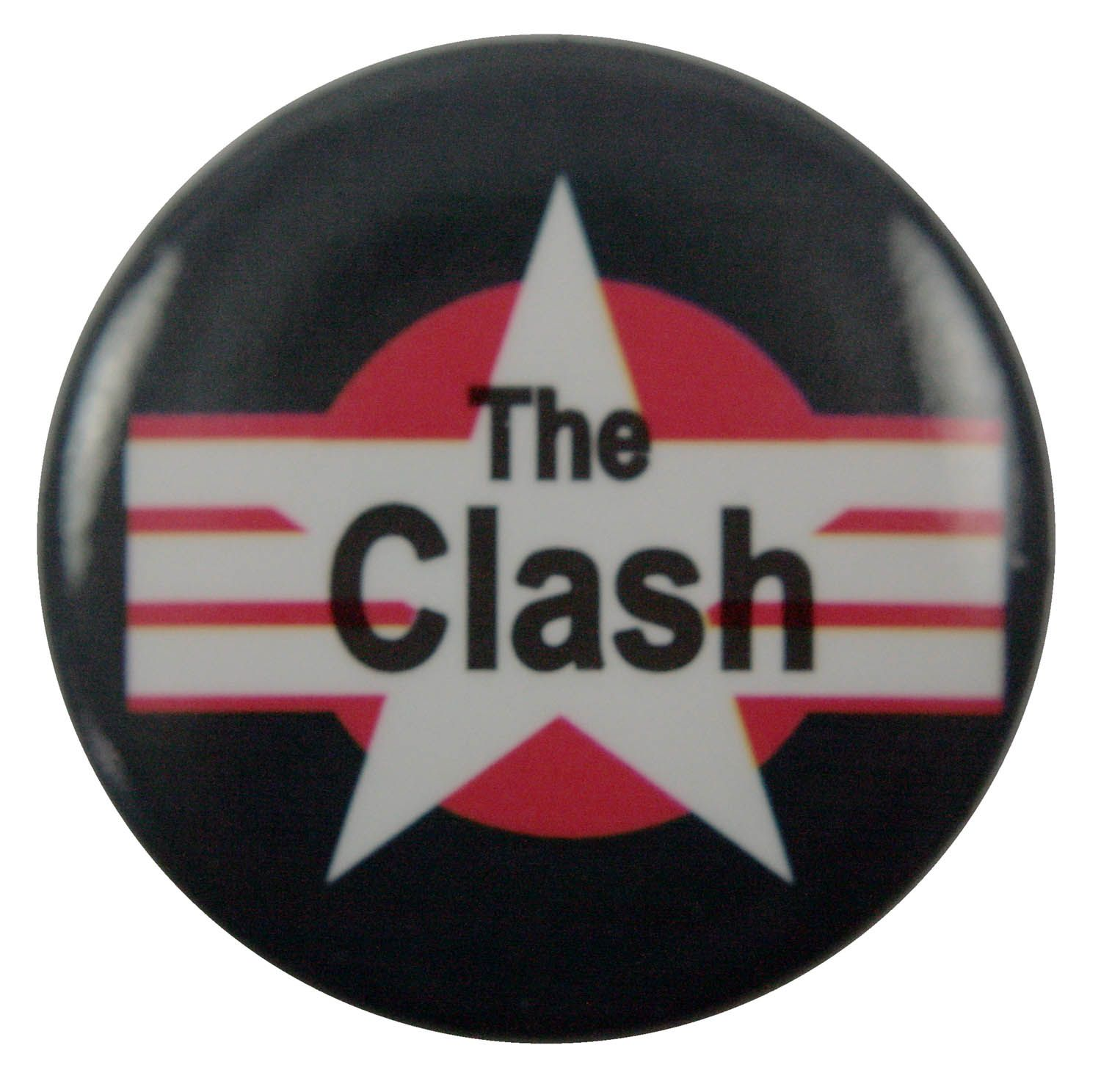 Badge Pin Button The Clash 38 mm